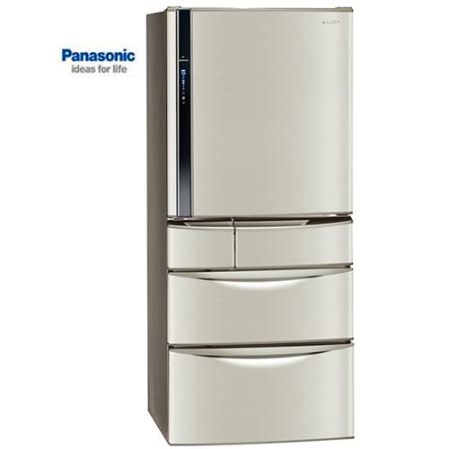 【感恩有禮賞】Panasonic 國際 冰箱 NR-E567MV-L 變頻五門 香檳金