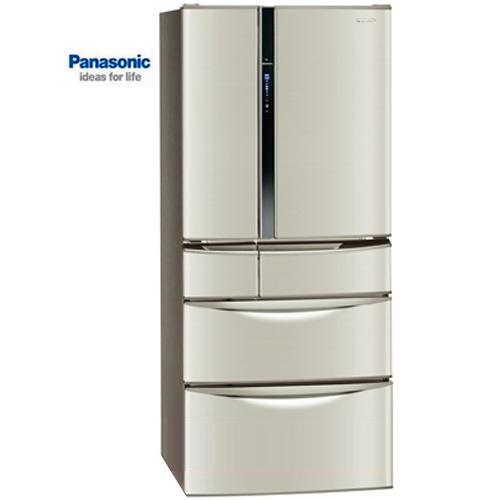 【感恩有禮賞】Panasonic 國際 NR-F567MV-L  變頻六門冰箱 560L 香檳金