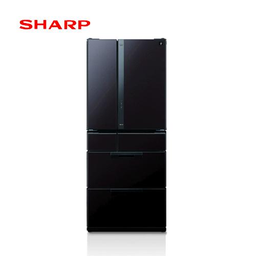 SHARP 夏普 SJ-GF60X-T 601L 6門冰箱  日本原裝