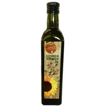 智慧有機體 德國冷壓葵花油 500ml 原價$320-特價$289 採自有機耕作葵花籽 德國原裝 暗色玻璃瓶裝