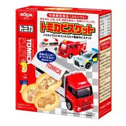 日清TOMICA汽車餅乾 (55g)