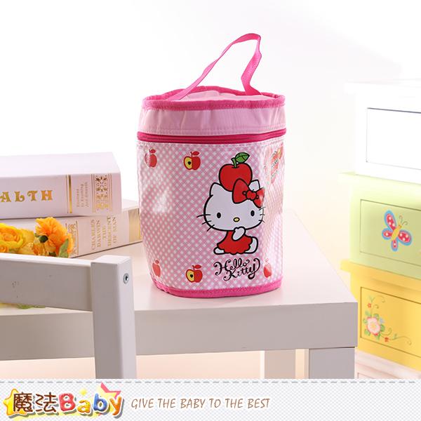 Hello Kitty授權正版圓型保溫便當袋 魔法Baby~f0170