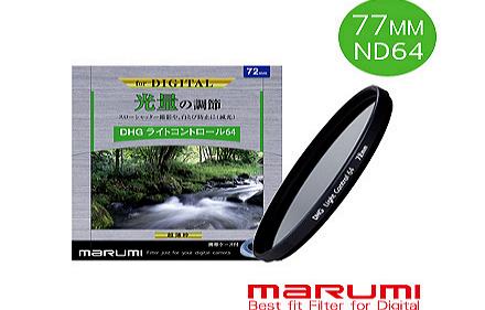Marumi   DHG   ND64   77mm 多層鍍膜減光鏡 彩宣公司貨