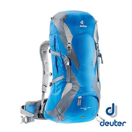 德國 deuter Futura Pro網架透氣背包 42+5L 藍/灰 34294