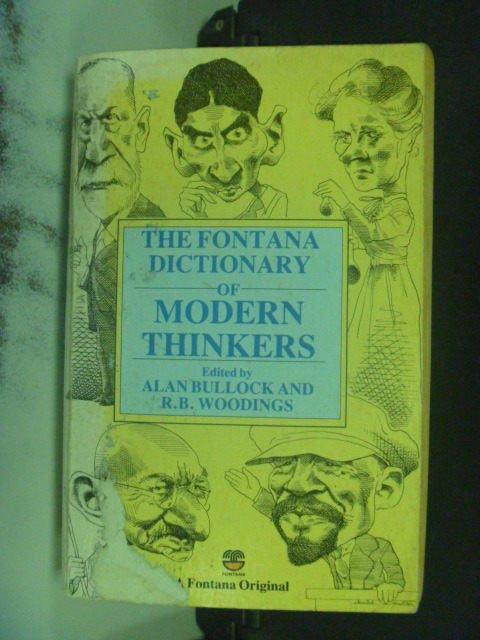【書寶二手書T3/哲學_KOL】The Fontana Biographical Companion
