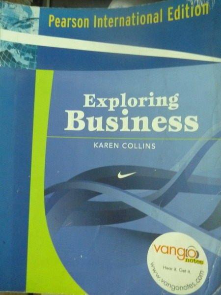【書寶二手書T7/大學商學_QAZ】Exploring Business_KAREN,etc