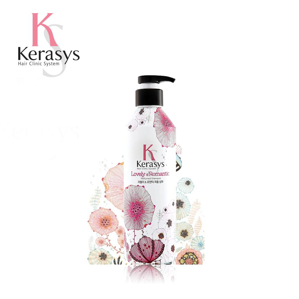 【韓國Kerasys】香氛洗髮精-浪漫粉紅 400ml