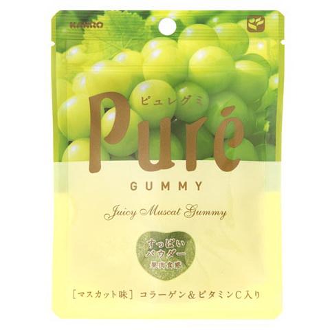 Kanro甘樂PURE青葡萄軟糖 (56g)