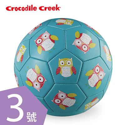 【悅兒園婦幼生活館】美國 Crocodile creek 3號兒童運動遊戲足球-親親貓頭鷹(19.7cm)