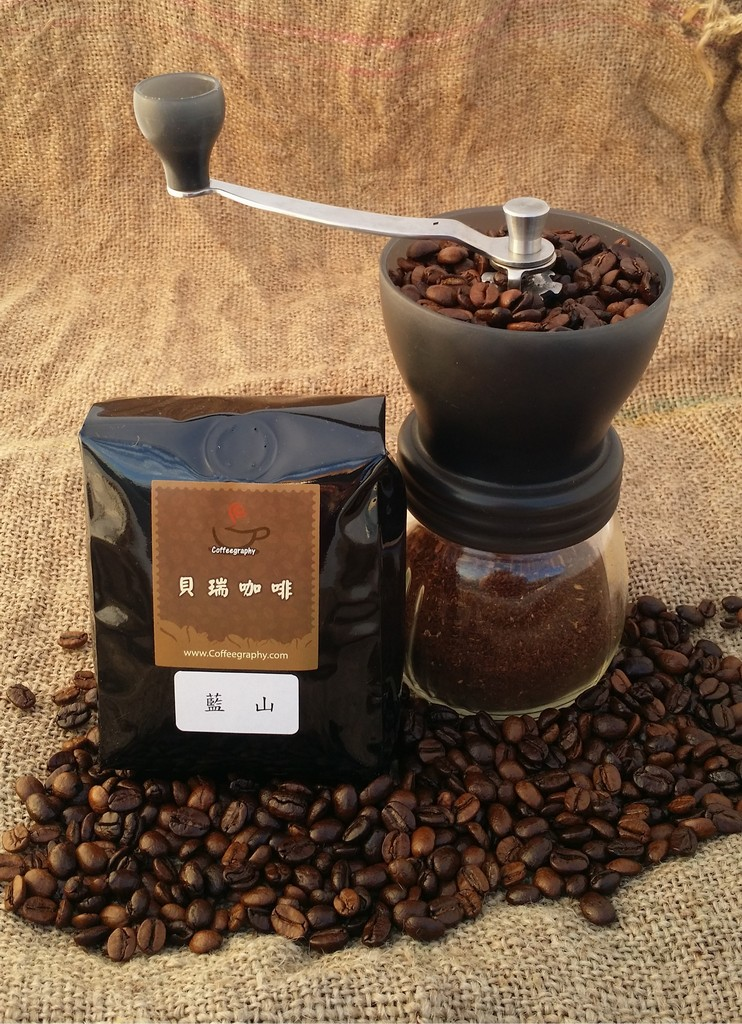 (貝瑞咖啡) 藍山風味 - 咖啡豆 (半磅) (本商品不含磨豆器)