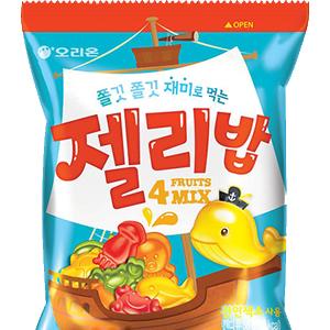 韓國Orion好麗友 海洋生物造型 QQ水果軟糖 [KR196]
