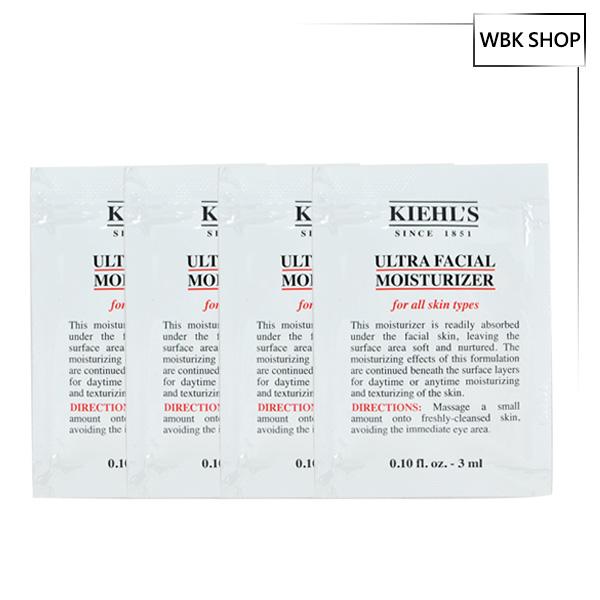 【限定免運】Kiehl's 契爾氏 冰河保濕乳液 3ml*4包入