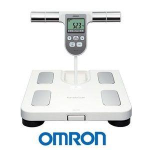OMRON歐姆龍體重體脂肪計HBF-370(白色),限量加贈歐姆龍專用提袋