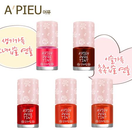 韓國 A'PIEU 清透唇露 (8g) 唇露 唇彩 A pieu APIEU 奧普【B061101】