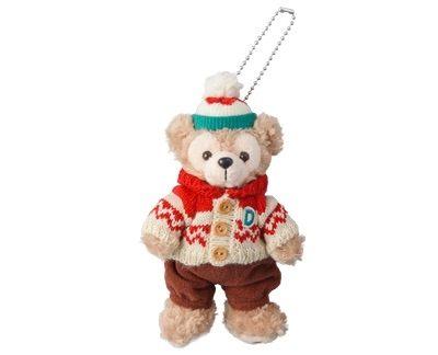 日本直送 東京迪士尼限定2015年聖誕節吊飾 Duffy達飛熊/Shelliemay雪莉梅/Gelatoni傑拉東尼
