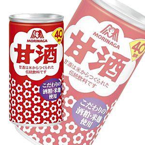 MORINAGA森永甘酒風味飲料 190ml | 森永 甘酒ドリンク