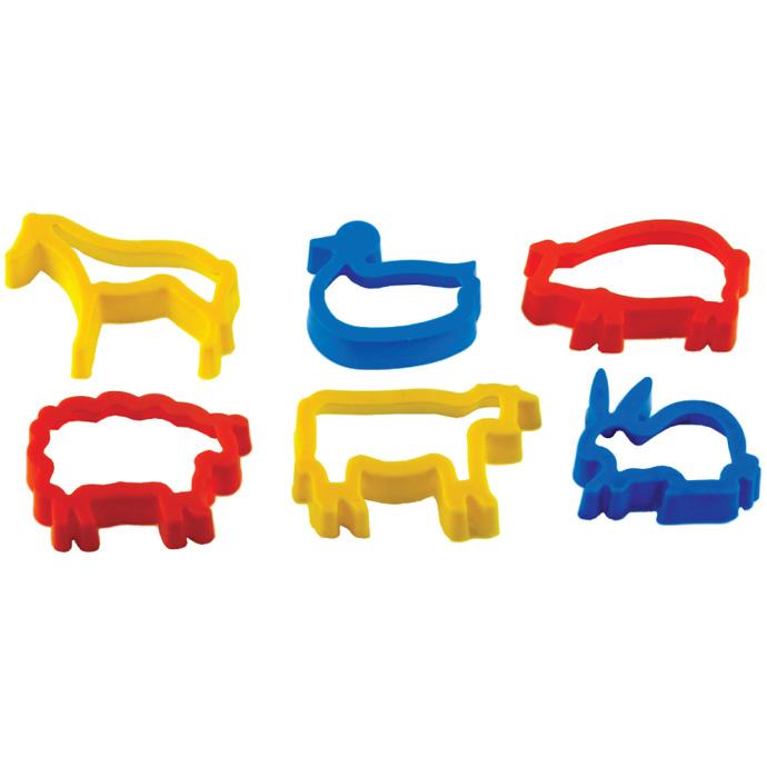 【華森葳兒童教玩具】美育教具系列-切模綜合組-動物 L1-AP/025-AC