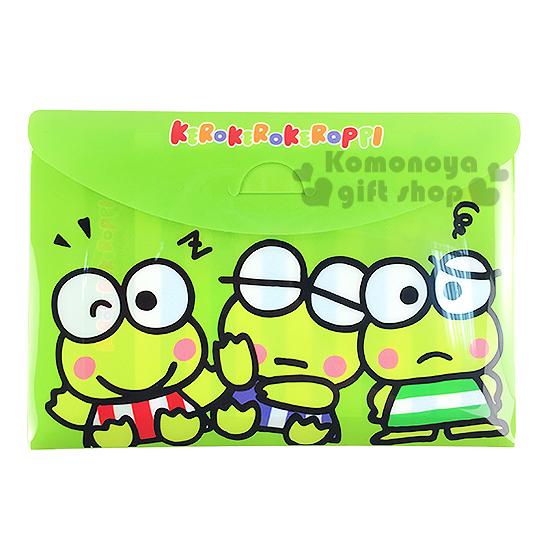 〔小禮堂〕大眼蛙 便條紙《綠.三兄弟》18 款圖案.附收納袋