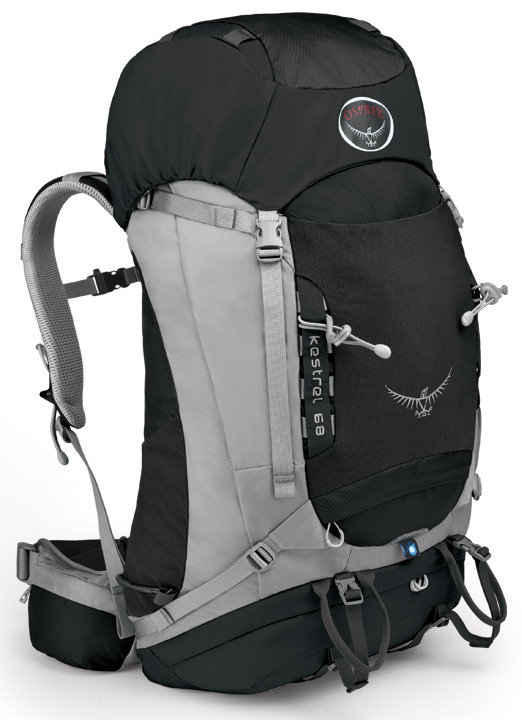【鄉野情戶外專業】 Osprey |美國|  Kestrel 68 登山背包/自助旅行大背包-岩灰M/L/Kestrel68