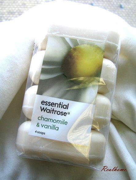 *Realhome* 英國原裝 皇室愛用品牌 Waitrose 香皂優惠組合4入 - 洋甘菊香草 預購中