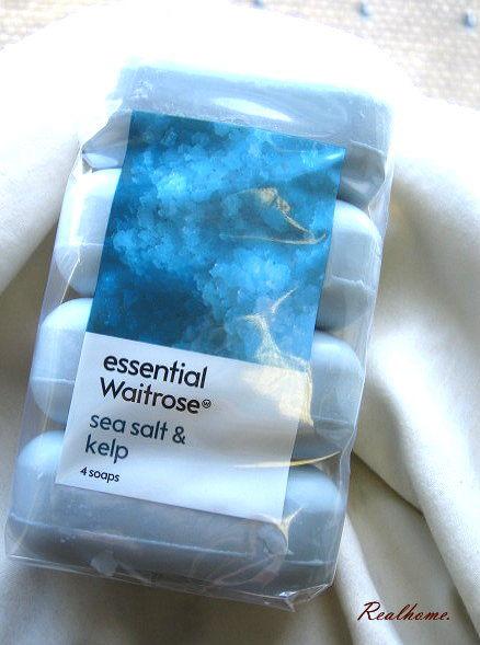 *Realhome* 英國原裝 皇室愛用品牌 Waitrose 香皂優惠組合4入 - 海鹽藻群