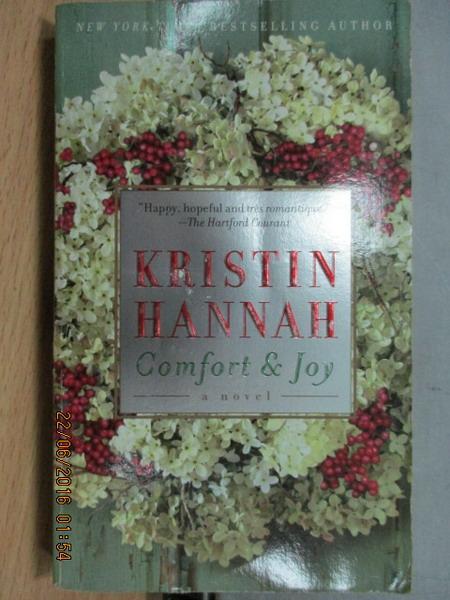 【書寶二手書T9/原文小說_MEH】Comgort joy_Kristin hannah