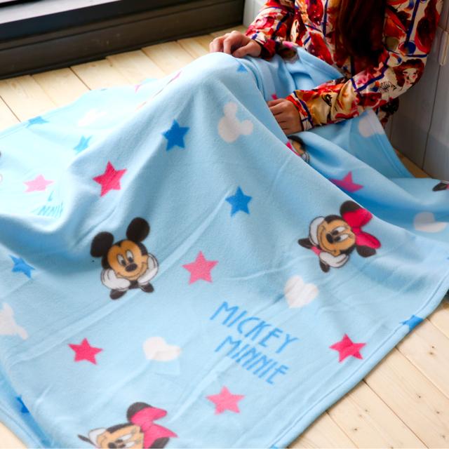 正版米奇與米妮刷毛保暖毯 迪士尼 刷毛毯被 棉被 毯被 保暖被 毛毯 嬰兒毯 懶人毯 冷氣毯