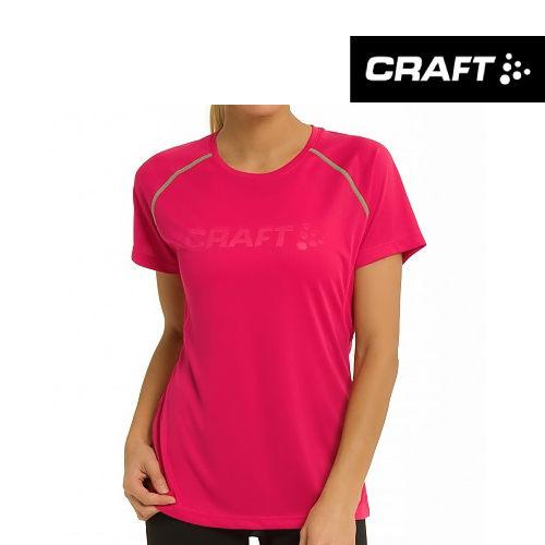 Craft 瑞典 | 女款 Logo 短袖 圓領 排汗衣 | 秀山莊(1903174)