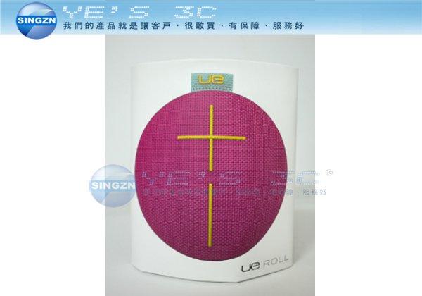「YEs 3C」UE ROLL 無線藍牙喇叭 IPX7防水 全方位音效 紫色/橘色 免運
