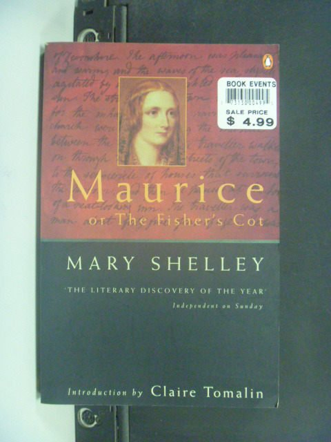 【書寶二手書T9/原文小說_JKT】Maurice, or the Fisher's Cot_Mary Shelley