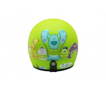 《EVO》智同 CA-309 怪獸家族 3/4 半罩式 安全帽 LAUS(訂)