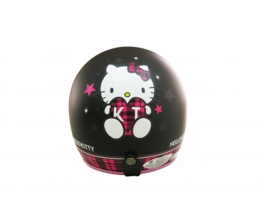 《EVO》智同 CA-309 格紋 Kitty 3/4 半罩式 安全帽 LAUS(訂)