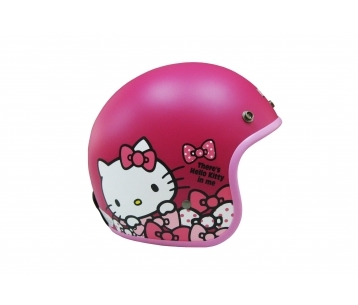 《EVO》智同 CA-309 點點 Kitty 3/4 半罩式 安全帽 LAUS(訂)