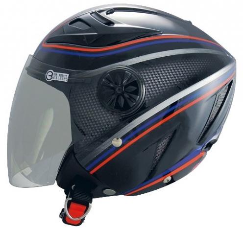 《GP5》232 卡夢 雙層鏡 半罩安全帽 3/4【機車工程師】(訂)
