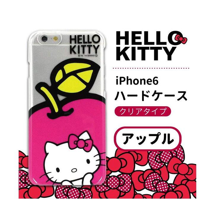 大田倉 日本進口正版iPhone6 三麗鷗 凱蒂貓 Hello Kitty 手機殼 硬殼 766902
