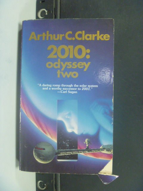【書寶二手書T6/原文小說_JEI】2010: Odyssey Two_Clarke, Arthur C.