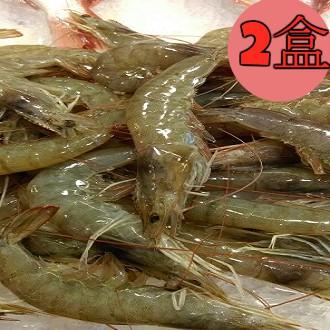 白蝦(A級)宏都拉斯3/4(1.2kg=2台斤重)2盒