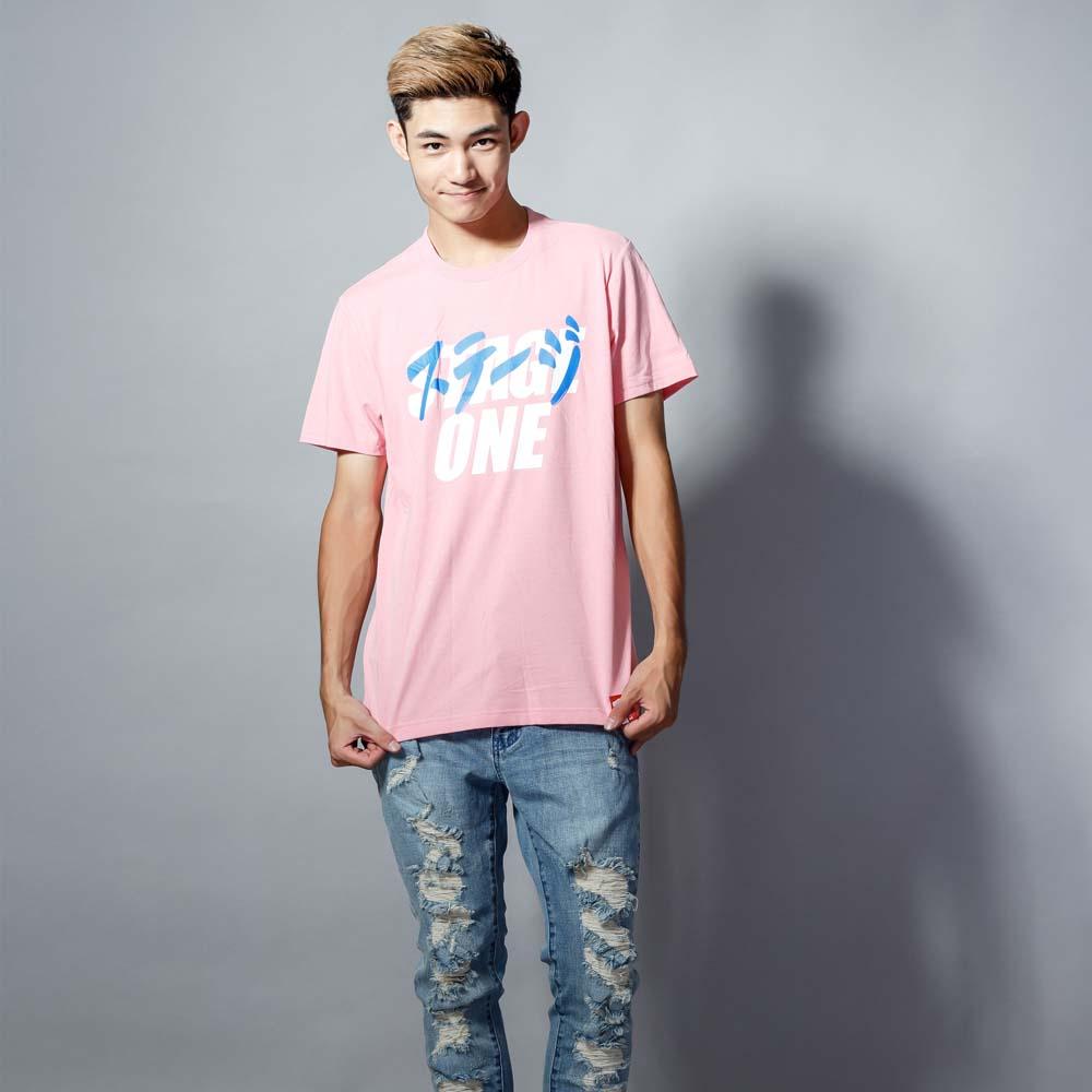 STAGEONE ICHIBAN TEE 黑色 / 粉紅色 兩色