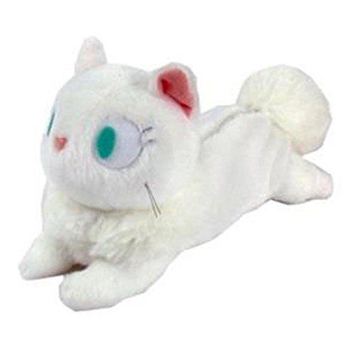 【真愛日本】15110900034 造型娃娃筆袋-白貓 魔女宅急便 黑貓 奇奇貓 筆袋 鉛筆盒 文具 收納