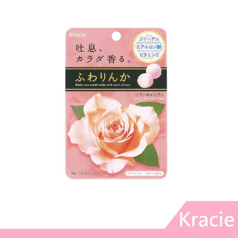 【RH shop】 日本 Kracie 玫瑰薔薇花香軟糖 味覺糖 (32G)