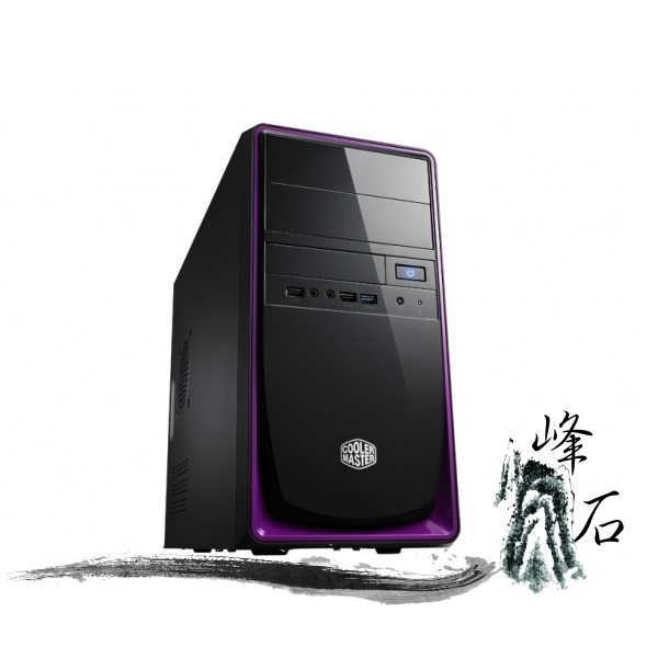 樂天限時優惠! CoolerMaster Elite 344 USB3.0 紫色 電腦機殼