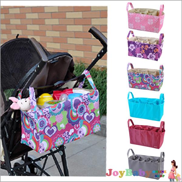 推車置物袋/分隔袋/收納袋手提雙層加厚多彩牛津布包 媽咪包內膽包 收納袋【JoyBaby】