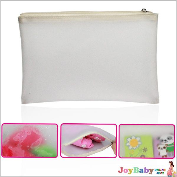 防水收納袋 透明濕物袋 媽媽包雜物整理袋【JoyBaby】