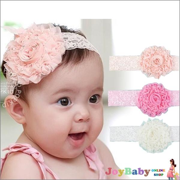 兒童髮帶頭飾嬰兒髮飾新款雪紡花朵韓國寶寶款【JoyBaby】