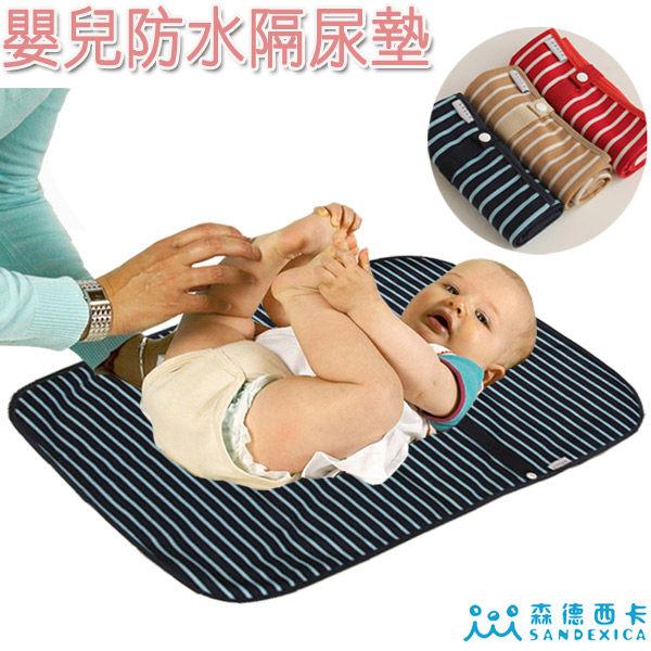 隔尿墊/產褥墊/尿墊日本暢銷SANDESICA防水嬰兒防尿墊 換尿布墊 產褥墊【JoyBaby】