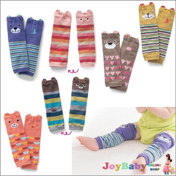 襪子/襪套/嬰兒襪日韓寶寶動物造型保暖純棉襪套 兒童泡泡襪 護膝 護肘 襪子 襪套【JoyBaby】