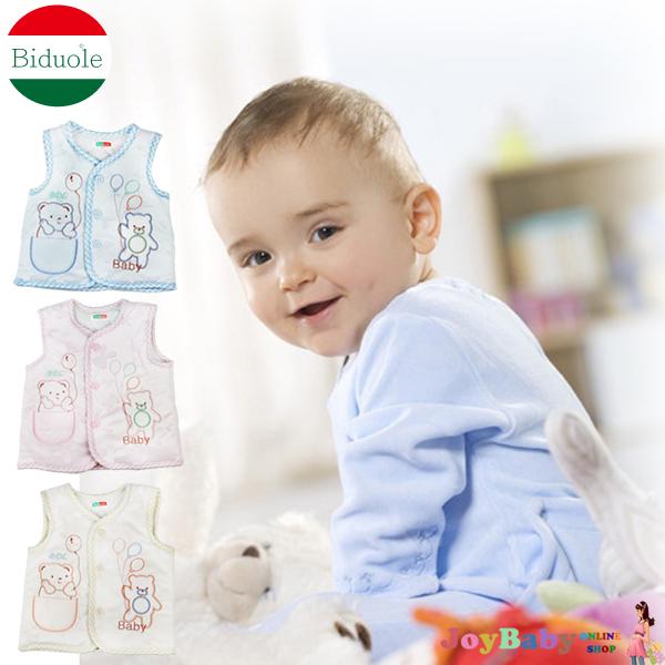 【JoyBaby】BDL氣球小熊 嬰兒童純棉馬甲嬰幼兒外出防寒保暖馬甲男女寶寶背心馬甲