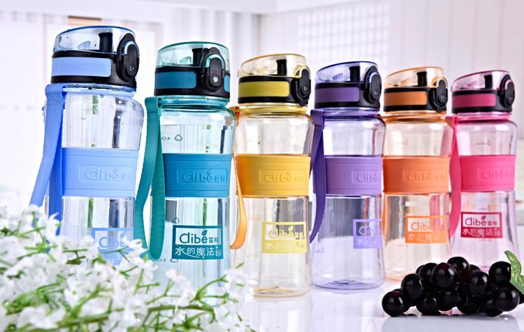 彩色馬卡龍水瓶(6色)-550ml 馬蹄扣式按鍵開關運動杯/車載杯/運動隨手杯/隨行杯