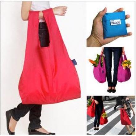 環保袋-摺疊環保購物袋,多色隨機發貨【Casa Mia】