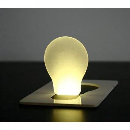 創意小物 - 創意LED卡片燈 銀行卡大小